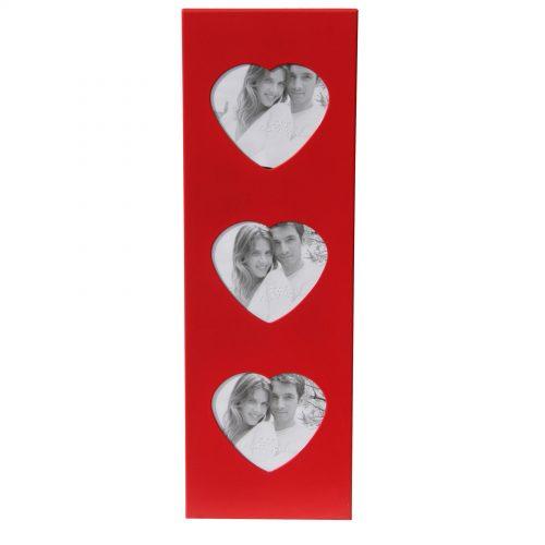 cornice Love con tre spazi portafoto