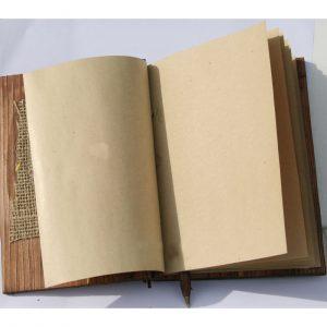 quaderno Best in legno ecologico carta riciclata aperto