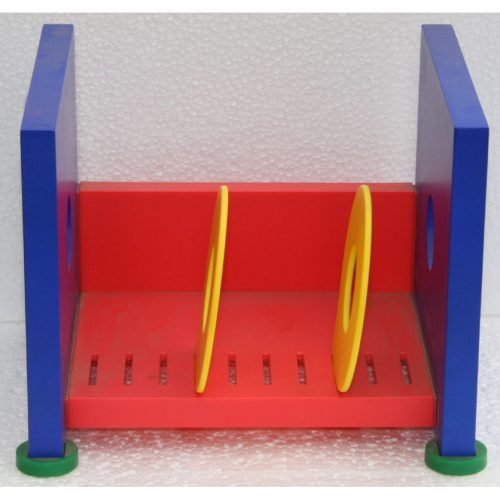 porta CD Qube 24 plastica colorata