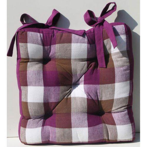 cuscino coprisedia da cucina scozzese
