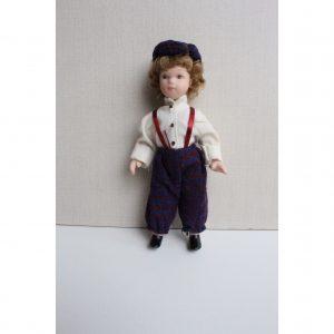 Bambola in porcellana per collezionisti o per bomboniere