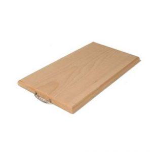 Tagliere in legno EXTRA PORTATA, con maniglia, 35x22 cm-0