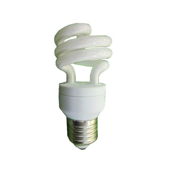 Lampadina basso consumo spirale risparmio energetico 20W E27 luce calda o fredda-0