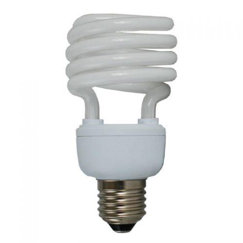 Lampadina basso consumo a spirale risparmio energetico 23W E27 luce calda 2700k-0