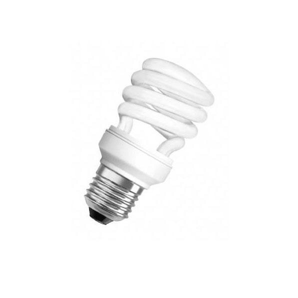 Lampadina basso consumo spirale risparmio energetico 36W E27 luce calda o fredda-0