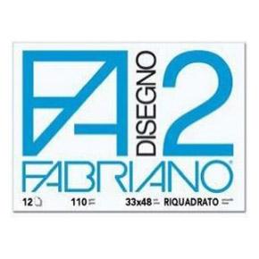 Fabriano-33x48-F2-liscio-riquadrato-12-fogli