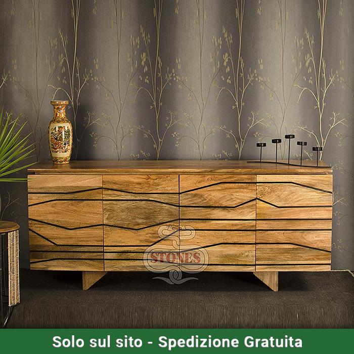 Madia in legno parallel life valvaraita stock e - Mobili valvaraita ...