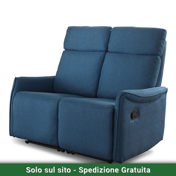 Divanetto con reclinatore manuale mirco valvaraita stock - Mobili valvaraita ...
